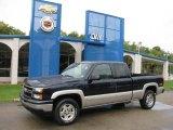 2006 Dark Blue Metallic Chevrolet Silverado 1500 Z71 Extended Cab 4x4 #18630715