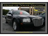2008 Brilliant Black Crystal Pearl Chrysler 300 LX #18629236