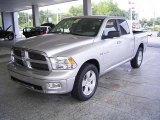 2009 Bright Silver Metallic Dodge Ram 1500 Big Horn Edition Crew Cab #18644577
