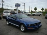 2007 Vista Blue Metallic Ford Mustang V6 Premium Coupe #18632731