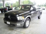 2009 Brilliant Black Crystal Pearl Dodge Ram 1500 TRX Crew Cab #18644574