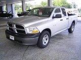 2009 Bright Silver Metallic Dodge Ram 1500 ST Quad Cab #18644585