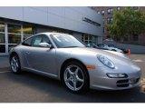 2007 Arctic Silver Metallic Porsche 911 Carrera Coupe #18641800