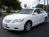 2008 Super White Toyota Camry LE #18624625