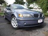 2002 Steel Blue Metallic BMW 3 Series 325i Sedan #18696142
