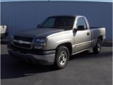 2003 Light Pewter Metallic Chevrolet Silverado 1500 Regular Cab #18690726