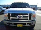 2010 White Platinum Metallic Tri-Coat Ford F350 Super Duty King Ranch Crew Cab 4x4 #18693375