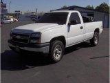 2006 Summit White Chevrolet Silverado 1500 Work Truck Regular Cab 4x4 #18690727