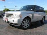 2007 Zermatt Silver Metallic Land Rover Range Rover HSE #18703331
