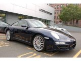 2007 Midnight Blue Metallic Porsche 911 Carrera 4S Coupe #18703630