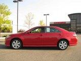 2008 Barcelona Red Metallic Toyota Camry SE #18703550