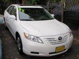 2008 Super White Toyota Camry LE #18752444