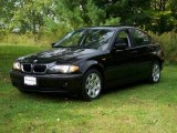 2004 Jet Black BMW 3 Series 325xi Sedan #18793951