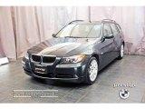 2007 Deep Green Metallic BMW 3 Series 328xi Wagon #18779656