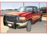 2000 Bright Amber Metallic Ford F250 Super Duty XLT Extended Cab 4x4 #18790713