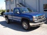 2003 Arrival Blue Metallic Chevrolet Silverado 2500HD LS Regular Cab #18797690