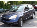 2007 Royal Blue Pearl Honda CR-V LX 4WD #18783432
