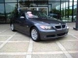 2007 Sparkling Graphite Metallic BMW 3 Series 328i Sedan #18787762