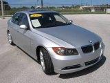 2007 Titanium Silver Metallic BMW 3 Series 335i Sedan #18777648
