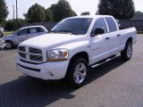 2006 Bright White Dodge Ram 1500 Sport Quad Cab 4x4 #18797769