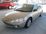 2002 Light Almond Pearl Metallic Chrysler Sebring LX Sedan #18852238