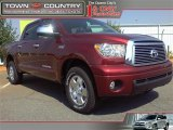 2010 Salsa Red Pearl Toyota Tundra Limited CrewMax #18857102