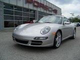 2007 Arctic Silver Metallic Porsche 911 Carrera 4S Coupe #188694