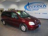 2007 Dark Toreador Red Metallic Ford Freestar SE #18858655