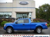 2010 Blue Flame Metallic Ford F150 STX SuperCab 4x4 #18843239