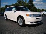 2010 White Platinum Tri-Coat Metallic Ford Flex SEL #18849994