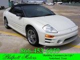 2003 Dover White Pearl Mitsubishi Eclipse Spyder GTS #18852485