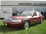 2009 Dark Toreador Red Metallic Mercury Grand Marquis LS #18846870