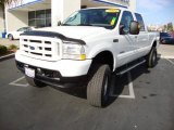 2004 Oxford White Ford F250 Super Duty XLT Crew Cab 4x4 #18857203
