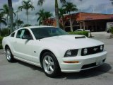 2007 Performance White Ford Mustang GT Premium Coupe #18846951