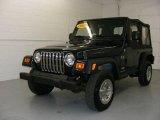 2006 Midnight Blue Pearl Jeep Wrangler X 4x4 #18858876