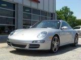 2007 Arctic Silver Metallic Porsche 911 Targa 4S #189011