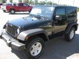 2010 Black Jeep Wrangler Sport 4x4 #18913632