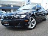 2006 Jet Black BMW 3 Series 325i Coupe #18904421