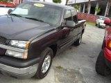2004 Dark Gray Metallic Chevrolet Silverado 1500 LT Extended Cab #18920012