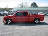 2005 Victory Red Chevrolet Silverado 1500 LS Extended Cab #18913345