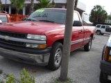 2001 Victory Red Chevrolet Silverado 1500 Regular Cab #18920010