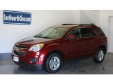 2010 Cardinal Red Metallic Chevrolet Equinox LT AWD #18918857