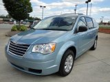 2010 Clearwater Blue Pearl Chrysler Town & Country LX #18918582