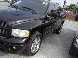 2003 Black Dodge Ram 1500 SLT Quad Cab #18920005