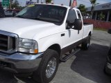 2004 Oxford White Ford F250 Super Duty Lariat SuperCab #18920013