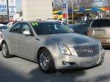 2009 Gold Mist Cadillac CTS Sedan #1872565