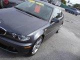 2006 Sparkling Graphite Metallic BMW 3 Series 325i Coupe #18920004
