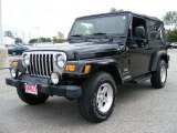 2006 Black Jeep Wrangler Unlimited 4x4 #18911177