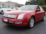 2008 Redfire Metallic Ford Fusion SEL V6 #18914450