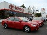 2008 Barcelona Red Metallic Toyota Camry LE #18911993